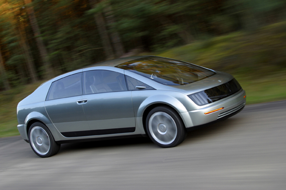 2002 – GM Hy-Wire Concept