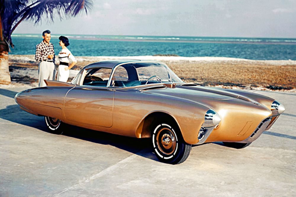 1956 – Oldsmobile Golden Rocket Concept