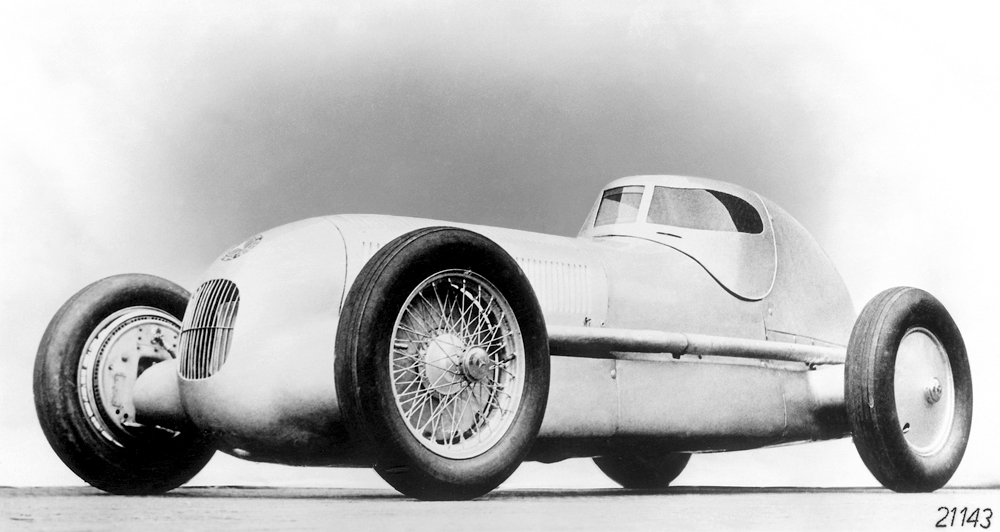 Called' racing sedan' by Rudolf Caracciola: The Mercedes-Benz W 25 record car, 1934.