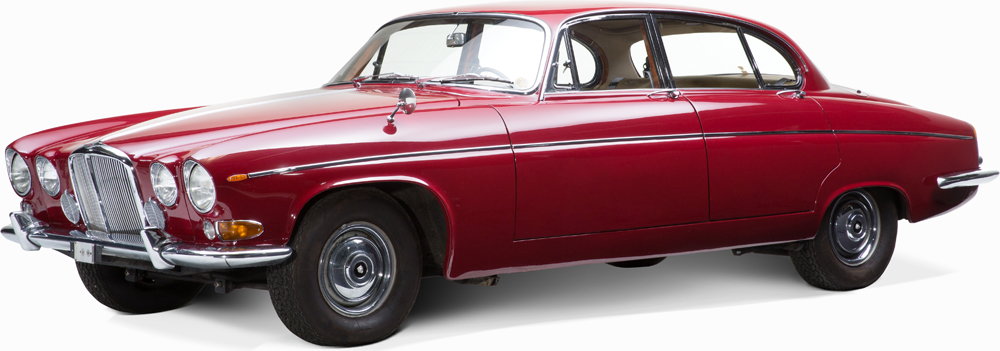 Auctionata_Classic Cars_Jaguar 420G_Model 1970_sold for 28.284 Euro (incl. buyer's premium)