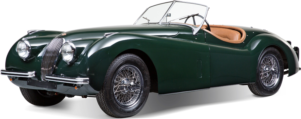 Auctionata_Jaguar XK 120 OTS, Model 1951_sold for 111.957,5 Euro (incl. buyer's premium)