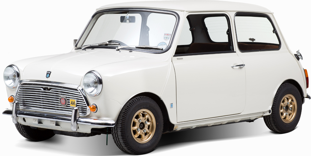 Auctionata_MINI 1000, RHD, Model 1977_sold for 14.142 Euro (incl. buyer's premium)