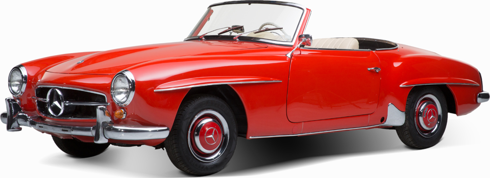 Auctionata_Mercedes Benz 190 SL, Model 1961_sold for 70.710 Euro (incl. buyer's premium)