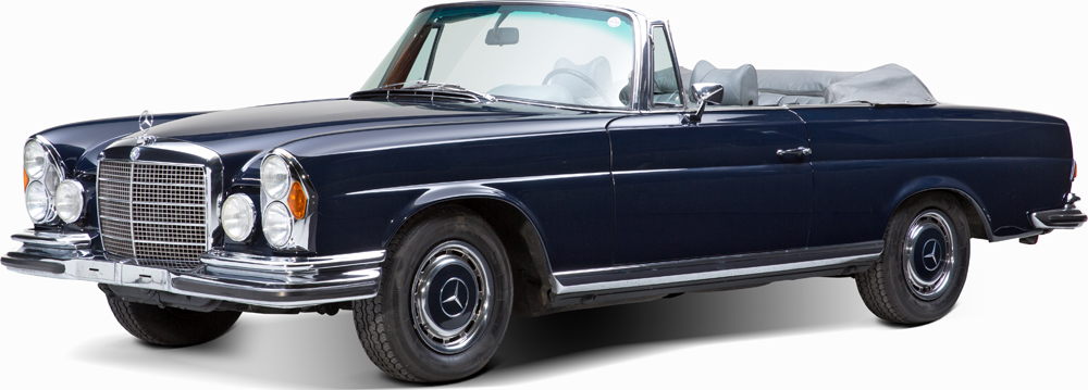 Auctionata_Mercedes Benz 280 SE 3.5, Model 1970_sold for 111.957,5 Euro (incl. buyer's premium)
