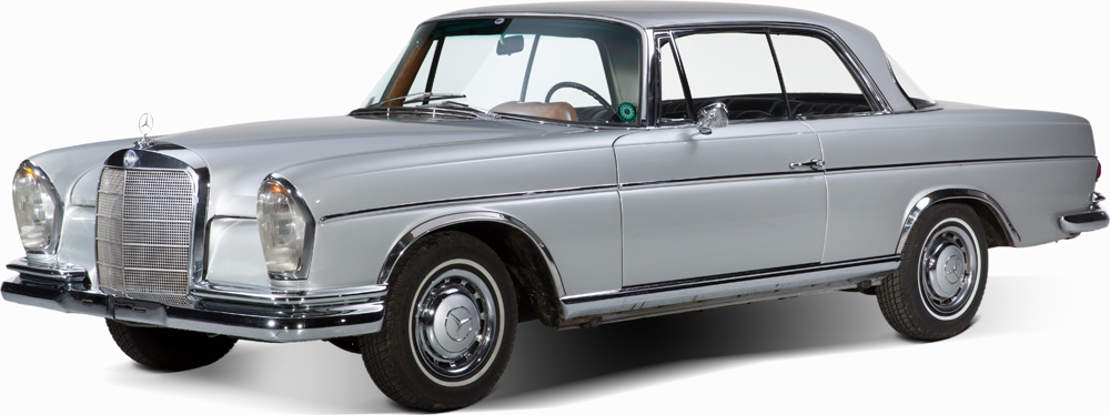 Auctionata_Mercedes Benz 300 SE Coupé, 1 of 2419 Coupés, Model 1964_sold for 37.712 Euro (incl. buyer's premium)