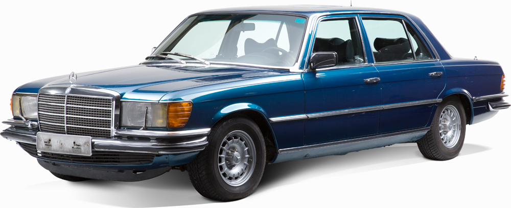 Auctionata_Mercedes Benz 450 SEL 6,9, Model 1977_sold for 28.284 Euro (incl. buyer's premium)