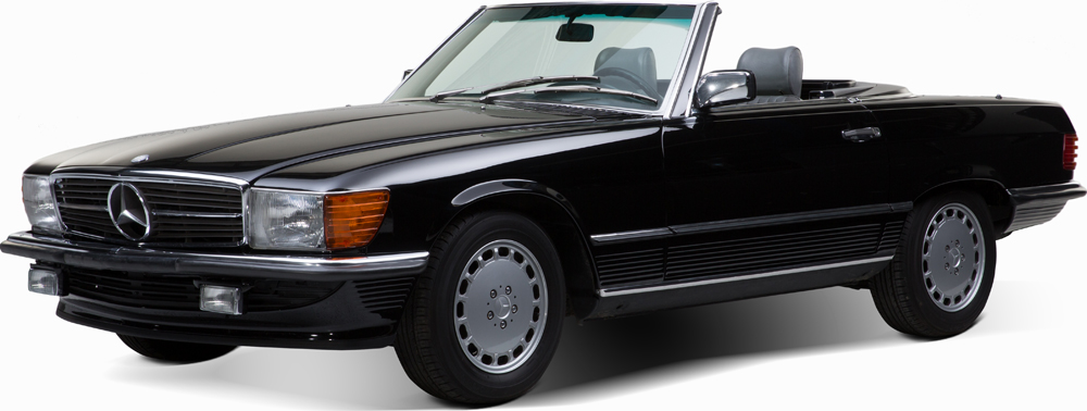 Auctionata_Mercedes Benz 560 SL, Model 1988_sold for 35.355 Euro (incl. buyer's premium)