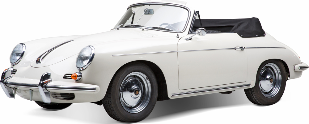 Auctionata_Porsche 356 B Cabriolet 1600 Super, Model 1961_sold for 111.957,5 Euro (incl. buyer's premium)