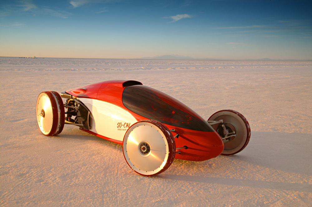 GM Ecotec-Powered Lakester at Bonneville