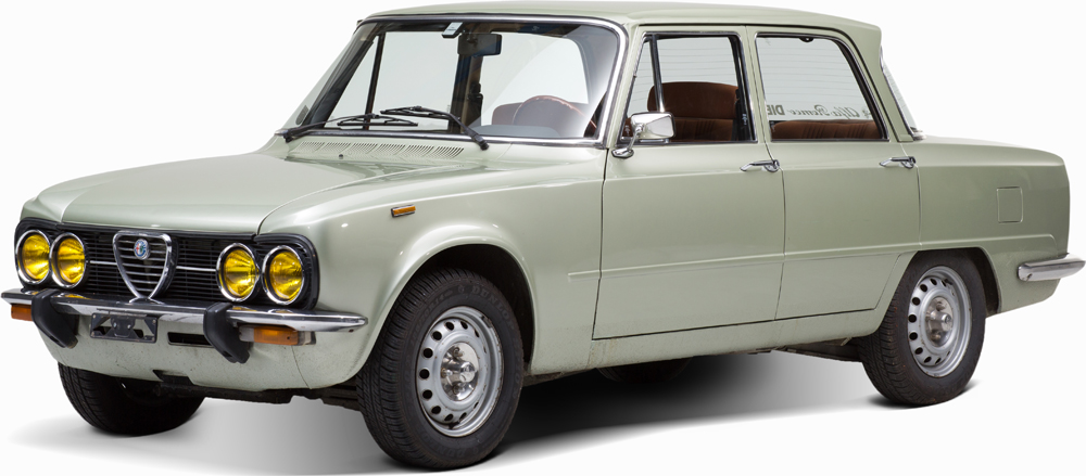 Auctionata_Alfa Romeo Giulia Super Nuova, Model 1976_sold for 14.142 Euro (incl. buyer's premium)