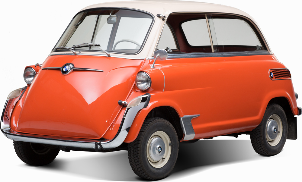 "Auctionata_BMW 600 ""Isetta"", Model 1958_sold for 22.391,5 Euro (incl. buyer's premium)"