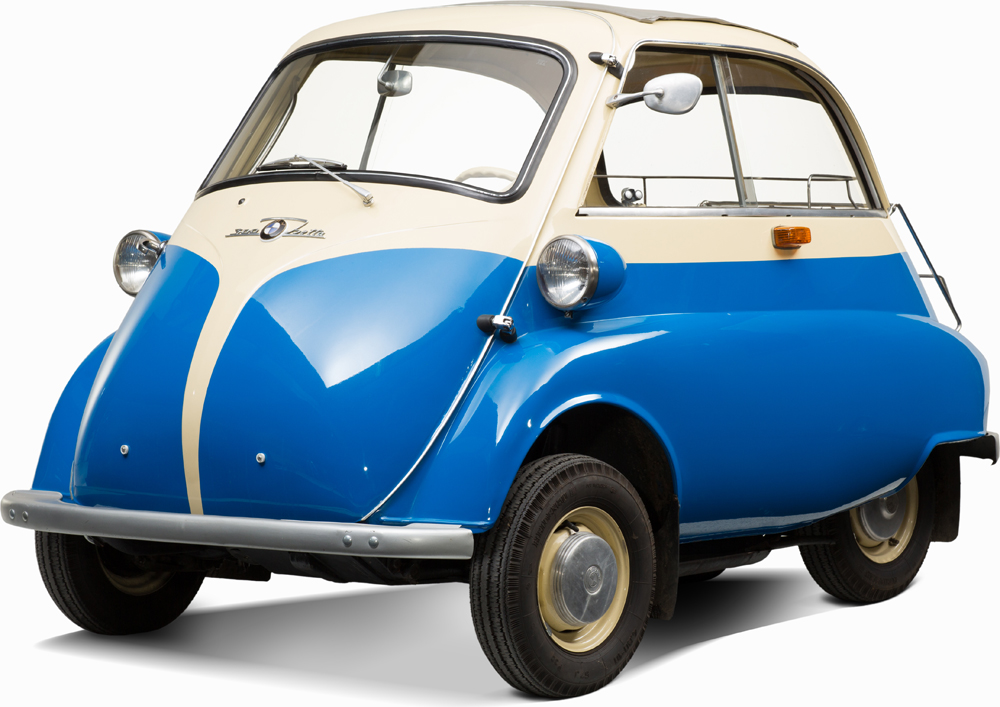 Auctionata_BMW Isetta Export 300, Model 1959_sold for 16.499 Euro (incl. buyer's premium)