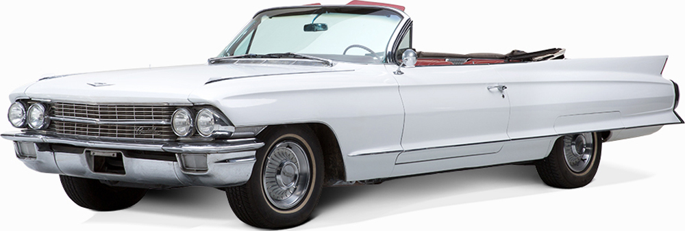 Auctionata_Cadlillac De Ville Cabriolet, Model 1962_sold for 18.856 Euro (incl. buyer's premium)