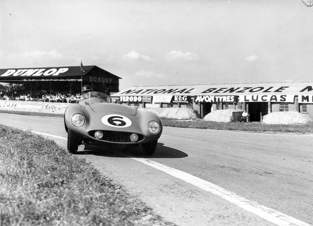 1955 GOODWOOD MIKE HAWTHORN FERRARI MONZA